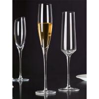 品酒红酒杯水晶高脚杯气泡杯精品欧式香槟杯2只装