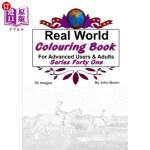 【中商海外直订】Real World Colouring Books Series 41