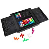 儿童拼图训练思维桌面玩具益智慧金字塔智力魔珠