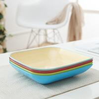 创意水果盘塑料糖果盘客厅欧式瓜子果盆零食果盒家用水果篮干果盘