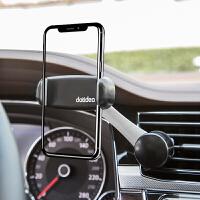 车载手机导航座支架出风口架支撑卡扣式双向调节通用型旋转夹