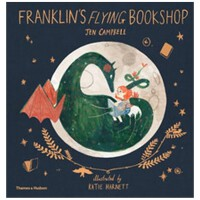 Franklin's Flying Bookshop 富兰克林的飞行书店 儿童绘本3-6岁
