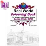 【中商海外直订】Real World Colouring Books Series 98