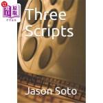 【中商海外直订】Three Scripts