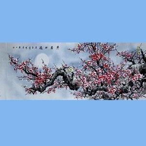 著名花卉画家,中国书画家协会理事,长安东方书画院院长田成喜(寒香四溢)
