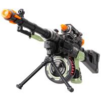 男童宝宝346岁冲锋枪儿童玩具枪男孩机关枪声光仿真充电动音乐抢