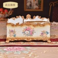 家用大号高档田园奢华欧式纸巾盒家居装饰品大象抽纸盒客厅茶几摆件SN8623
