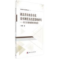 湖北省农地非农化效率测度及改进策略研究:基于宏观和微观多维视角