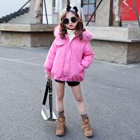 儿童短款棉衣2018新款棉袄外套中大童韩版厚款保暖棉服女孩