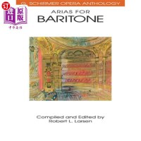 【中商海外直订】Arias for Baritone: G. Schirmer Opera Anthology