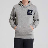 adidas阿迪达斯男装卫衣连帽套头衫休闲运动服B45729