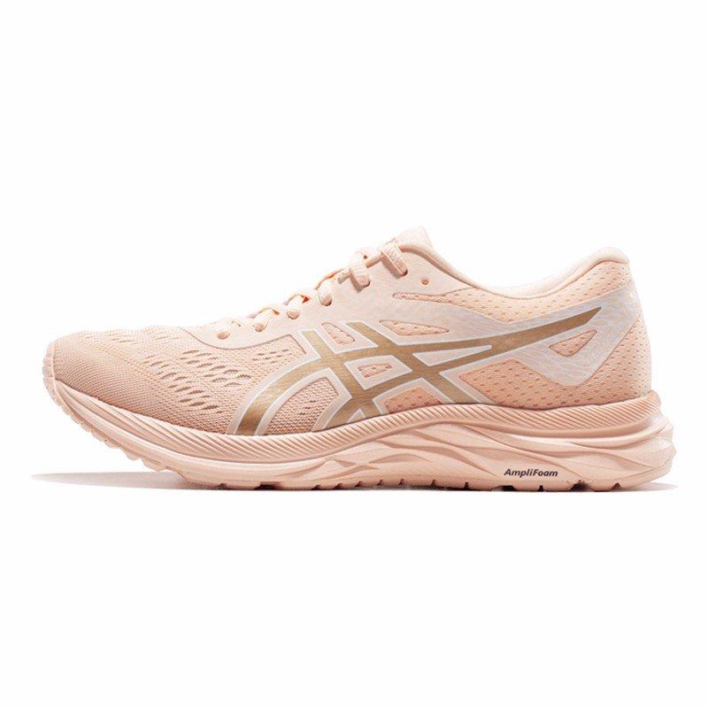 ASICS亚瑟士 缓冲回弹女跑步鞋19春夏GEL-EXCITE 6 1012A525-700