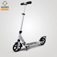 准者成人滑板车二轮可折叠代步车男女大轮减震运动车安全踏板车