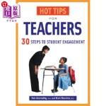 【中商海外直订】Hot Tips for Teachers: 30+ Steps to Student Engagem