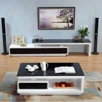 客厅家具茶几电视柜现代简约黑白茶几电视柜组合