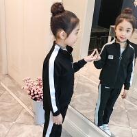 女童套装运动童装2018新款秋装儿童洋气潮衣宝宝春秋中大童两件套