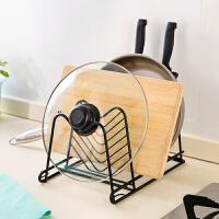 厨具置物架刀架锅架厨房用品收纳架多层挂架调料架子锅盖架储物架