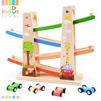 一岁宝宝玩具滑翔车女男孩1-2-3岁儿童小汽车轨道车玩具