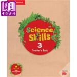 【中商原版】剑桥科学技巧3(教师书)英文原版 Cambridge Science Skills 3(Teachers