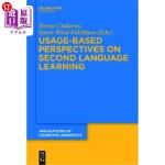 【中商海外直订】Usage-Based Perspectives on Second Language Learnin