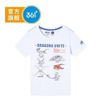【下单立减】361度童装 男童T恤短袖 2019夏季新品儿童上衣驯龙高手IP款K51922201