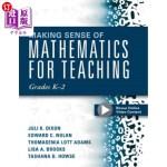 【中商海外直订】Making Sense of Mathematics for Teaching Grades K-2