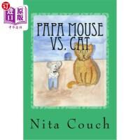 【中商海外直订】Papa Mouse Vs. Cat