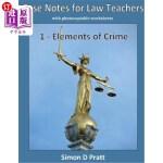 【中商海外直订】Case Notes for Law Teachers: Elements of Crime: Act