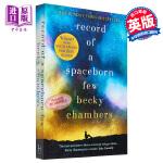 【中商原版】贝基・查博勒:太空出生的少数人的记录(旅行者系列3)英文原版 Record of a Spaceborn