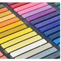 SIMBALION台湾雄狮60色软式粉彩笔 粉彩棒色粉笔|粉彩笔