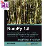 【中商海外直订】Numpy 1.5 Beginner's Guide