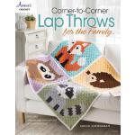【预订】Corner-To-Corner Lap Throws for the Family