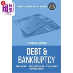 【中商海外直订】Debt & Bankruptcy Terms - Financial Education Is Yo