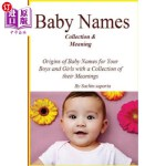 【中商海外直订】Baby Names(Collection & Meaning)