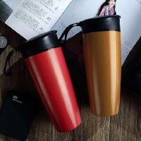 保温杯大容量男士咖啡杯学生陶瓷内胆便携男随手杯车载塑料水杯女