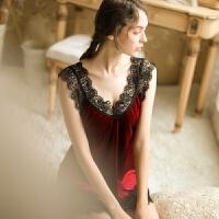 情趣 睡衣冬季女人睡裙套装诱惑吊带短睡裙外袍大码款式居家服浴袍