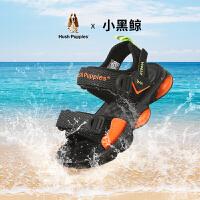 【159元任选2双】暇步士童鞋儿童沙滩凉鞋2021夏季新款男童软底休闲鞋包头运动凉鞋