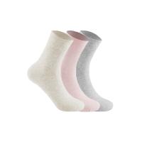 网易严选 给脚装个电热毯,3双装 女式加厚中筒袜