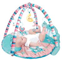 早教宝宝玩具0-1岁充电婴儿健身架器脚踏钢琴0-3-6-12个月游戏毯