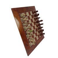 仿实木国际象棋 大号/中号磁性国际象棋 益智游戏 便携 少年款