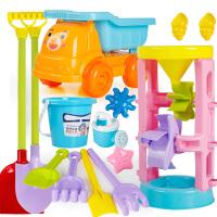 儿童沙滩玩具套装决明子玩具沙漏工具女宝宝室内