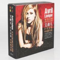 正版avril lavigne艾薇儿专辑巨星套装5CD 笔记本