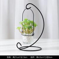 仿真植物盆栽铁艺个性烛台摆件客厅卧室装饰欧式花盆创意花架