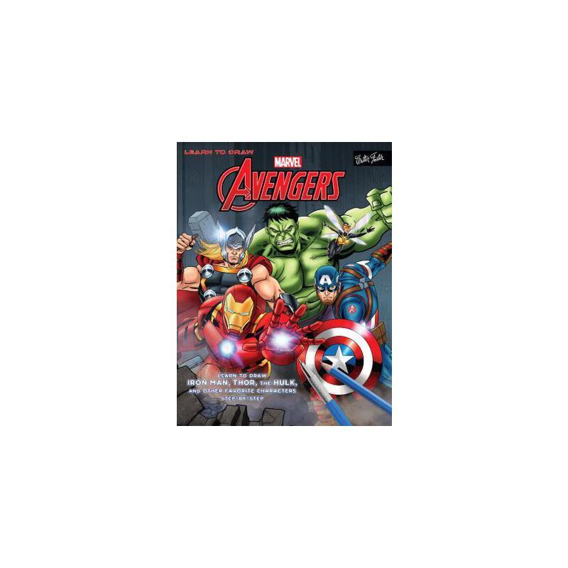 【预订】Learn to Draw Marvel's the Avengers: Learn to Draw Iron Man, Thor, the Hulk, and Other Favorite Characters Step-By-Step 预订商品,需要1-3个月发货,非质量问题不接受退换货。