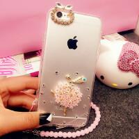奢华新款iphone7手机壳水钻苹果6splus硅胶套全包防摔s外壳软潮女
