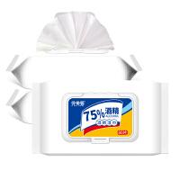 【现货速发】【3包装】完美爱 75%酒精湿巾80抽 杀菌除菌 更健康 学生开学必备