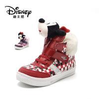 鞋柜/迪士尼女童靴子女童雪地靴