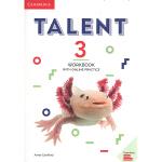 【中商原版】剑桥英语交际才能教程(练习册带线上练习第三级)英文原版 Talent Level 3 Workbook w