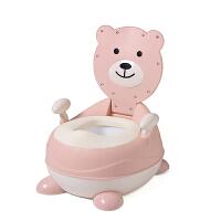 大号婴儿童坐便器女孩宝宝小马桶幼儿小孩座厕所尿桶男孩便盆尿盆 升级PU软垫款