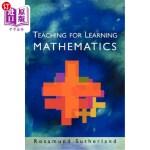 【中商海外直订】Teaching for Learning Mathematics
